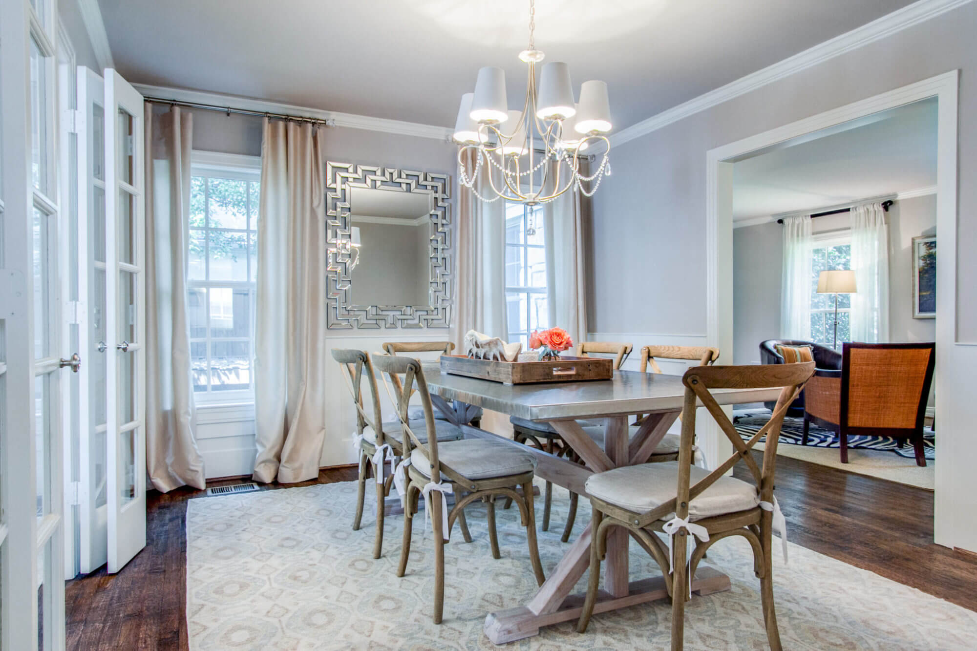 Project Bryn Mawr Formal Dining Room Ml Interiors Group