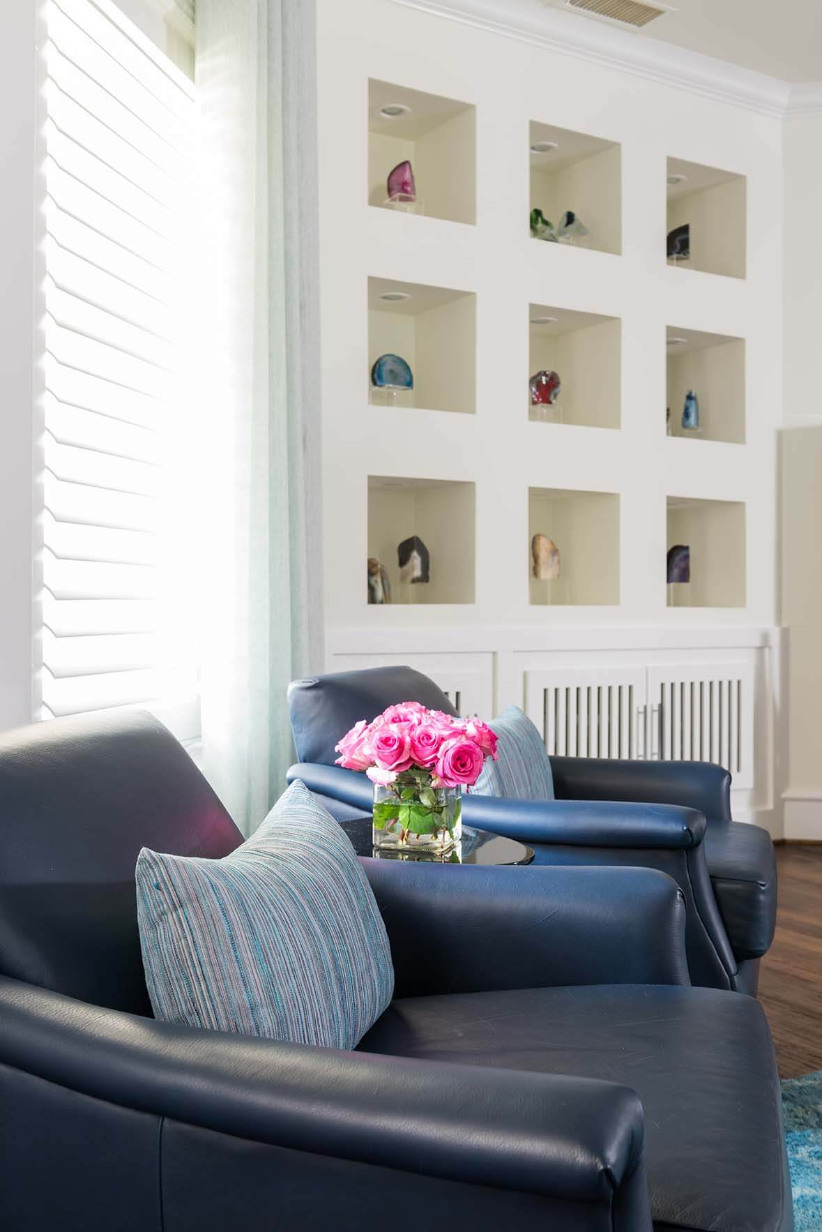 Project Tulip Family Room | ML Interiors Group, Dallas, Texas ...