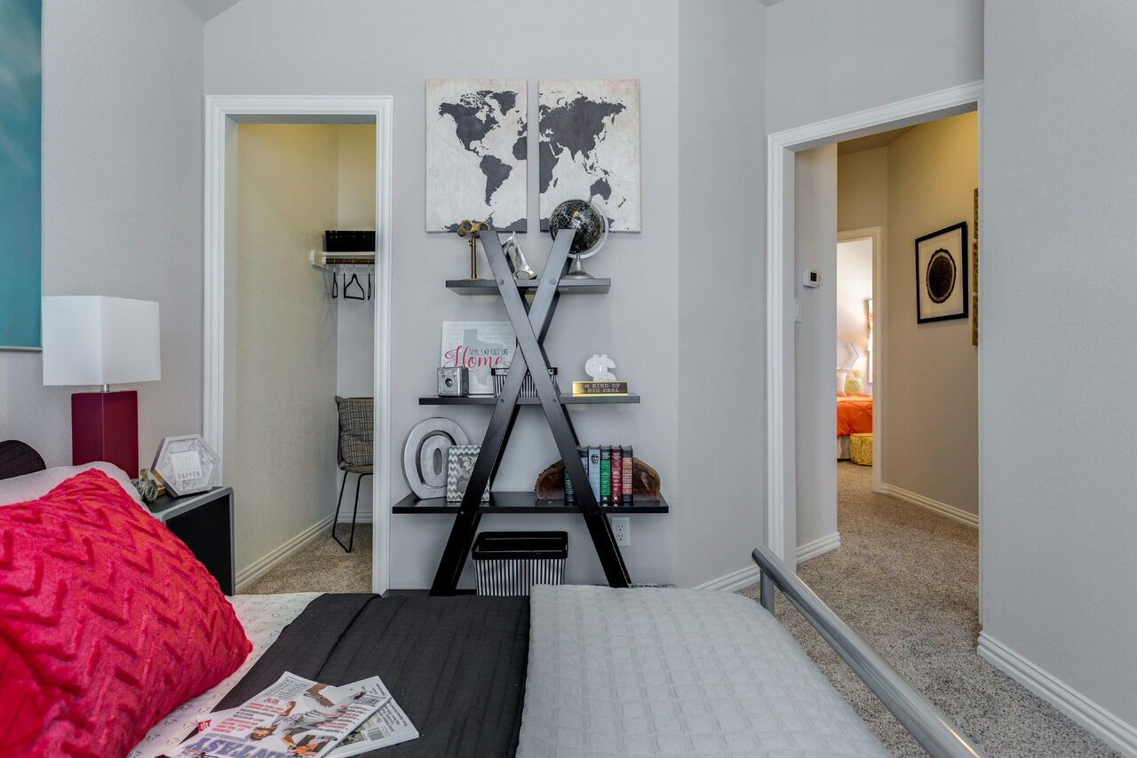 Project Llano Model Home Boys Bedroom ML Interiors Group Dallas - World map for boys room