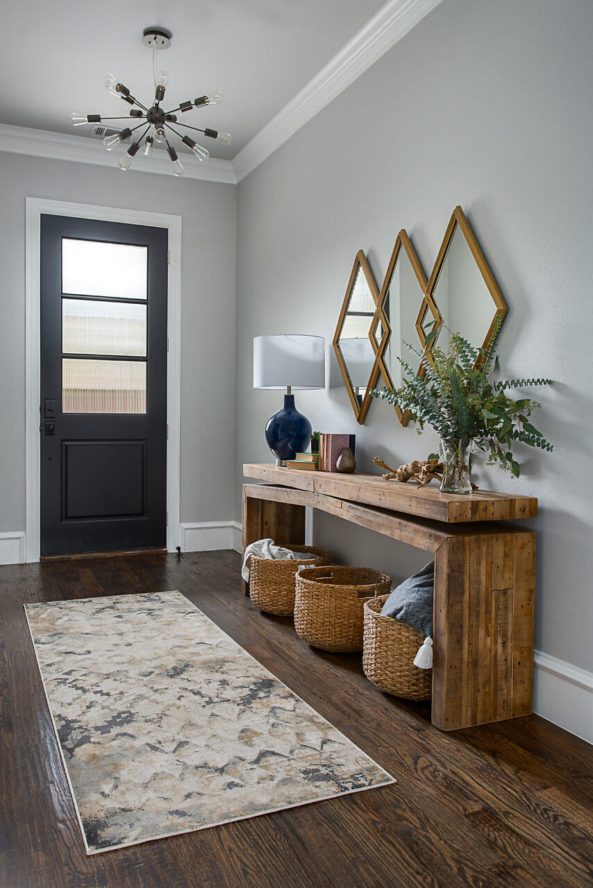 Entry Way Design | Dallas Interior Designer | ML Interiors Group