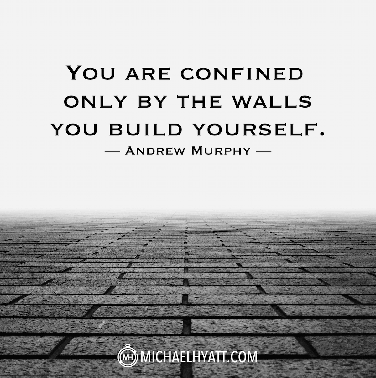 Monday Motivation | Dallas Interior Design | You are confined by the walls | Dream big
