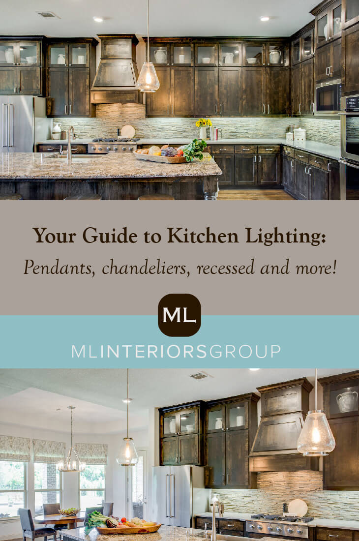 Lightbulb moment! You don't have to get all matchy-matchy with your kitchen lighting -- even the metal finishes can be different. But you do have to coordinate styles. Let's put it this way: The different light fixtures in your kitchen don't need to be twins, but they should be sisters. We're breaking down all the layers that go into creating kitchen lighting to make the space really feel like the hub of the home.