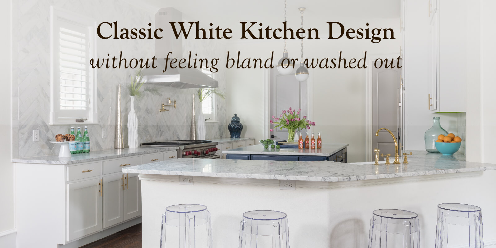 3 Simple Ways to Liven Up your White Kitchen Cabinets