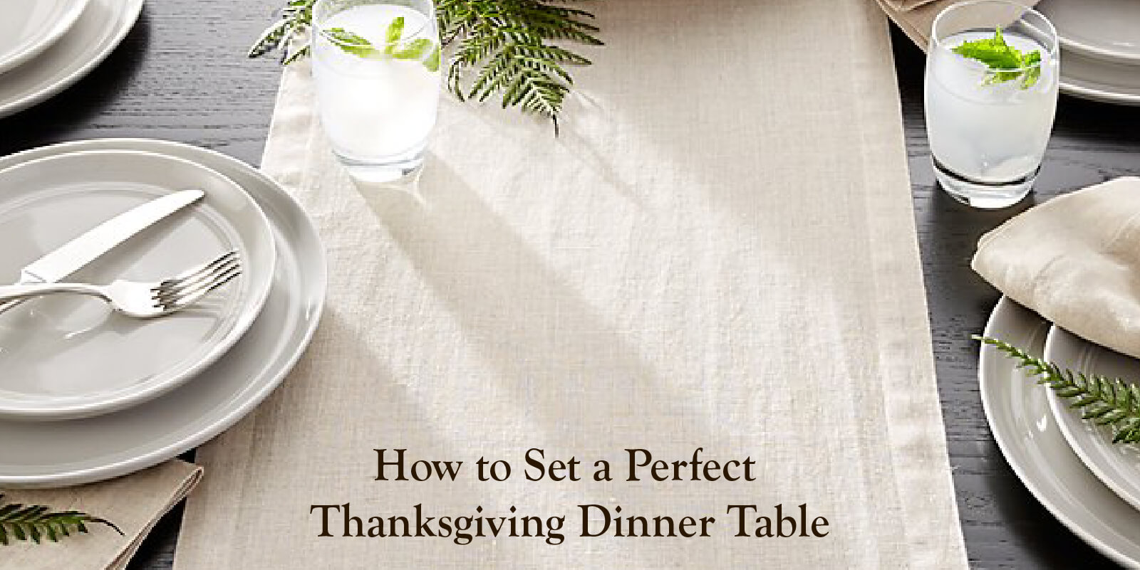 3 Simple Thanksgiving Table Decor Ideas